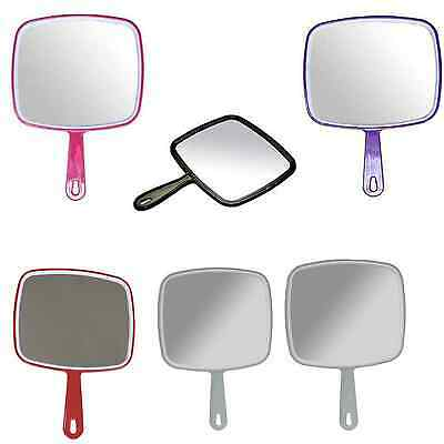 Hand Held Salon Mirrors, Professional, Hairdressing, Kodo Beauty Various Colours