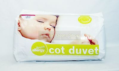4.5 Tog New Anti Allergy Baby Nursery Toddler Junior Cot Bed Duvet Quilt