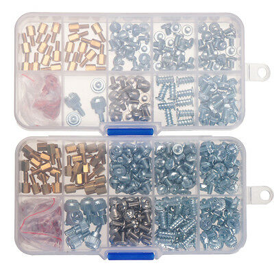 134/318pcs Computer Screws Kit for Motherboard PC Case CD-ROM Hard disk Notebook