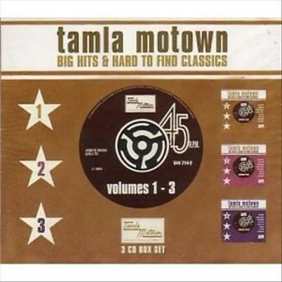 Various Artists - Tamla Motown: Big Hits & Hard To Find Classics, Vols. 1-3 New
