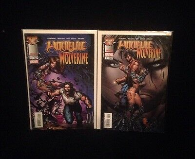 Witchblade/Wolverine Issue 1 Lot Of Two Comics Variant Covers