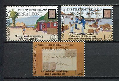 27605) SIERRA LEONE 1984 MNH** Nuovi** Stamps on Stamps