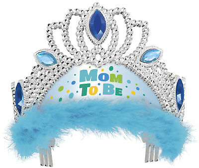 Blue Tiara Mom to Be Gifts & Favours Baby Shower Wearables