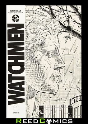 DAVE GIBBONS WATCHMEN ARTIFACT EDITION OVER-SIZED HARDCOVER Artist Hardback 1-12