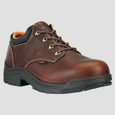 Mens Timberland PRO Titan Alloy Safety Toe Brown Work Shoes Size 7-15 47028210