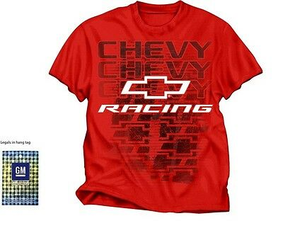 Chevrolet Chevy Racing T Shirt (New) Mens Large