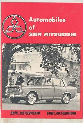 1963 Mitsubishi Colt 360 Truck Jeep Bus Pigeon Scooter Brochure Japanese wv1982