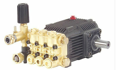 3600 PSI Pressure Power Washer Replacement Solid Shaft Pump 24mm Belt Drive Pump