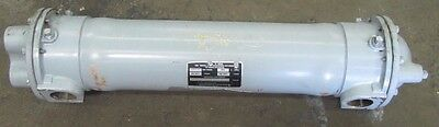 American Industrial Aa-1024-4-6-Fp 0701 Brass Shell Copper Tube Heat Exchanger