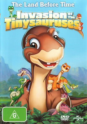 The Land Before Time XI: Invasion of the Tinysauruses * NEW DVD *