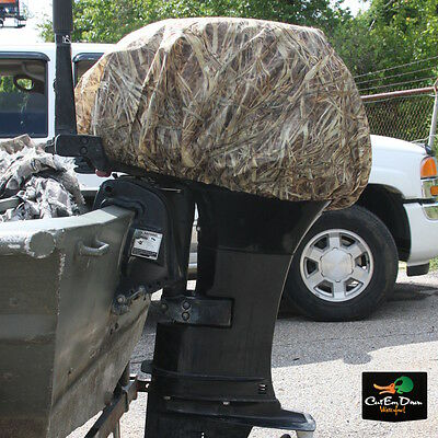 New Avery Greenhead Gear Ghg Standard Outboard Boat Motor Cover Kw-1 Camo Large