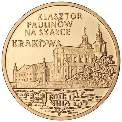 2011 Coins of Poland Nordic Gold 2zl Cities and Towns in Poland – Kraków