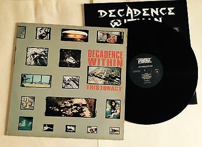 Lp Vinile Decadence Within This Lunacy 1989 Peaceville Records Vile 10 Hardcore