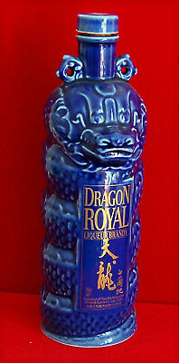"Flacon en faïence vernissée, Brandy  ""Dragon royal"""