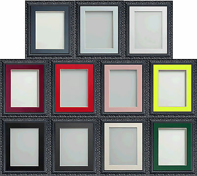 Frame Company Charleston Range Ornate Black Picture Photo Frames with Mounts