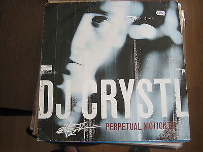 "Dj Crystl - Perpetual Motion Ep - 12"" Maxisingle Payday Uk 1995"