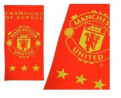 Manchester United Beach Towel 100% Cotton Beach Towel Official Licensed Product