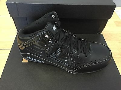 bcafc426643e5 AND 1 MEN'S Rocket 4.0 Mid Basketball Sneakers #D1083MBBS Black/Black/Silver