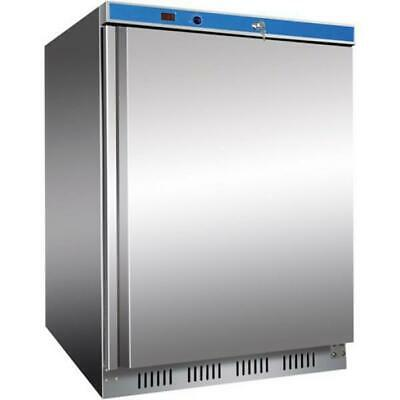 Bar Fridge 128.5L Stainless Steel Undercounter Cooler Under Bench Refrigerator