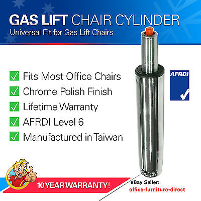 Gas Lift Cylinder, Chair Office Executive, Pneumatic Chrome Gas for Desk Chairs