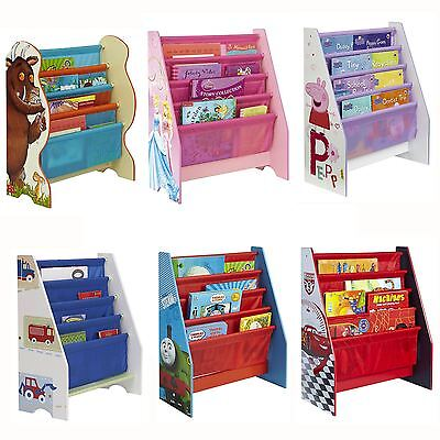 Character Sling Bookcase Bedroom Storage – Peppa, Thomas, Gruffalo, Cars & More