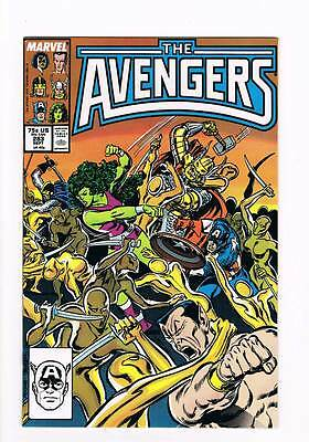 Avengers # 283 Whom the Gods Would Destroy! grade 9.0 movie hot book !!