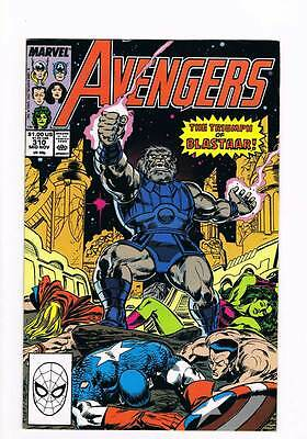 Avengers # 310 Death in Olympia ! grade 9.0 movie hot book !!
