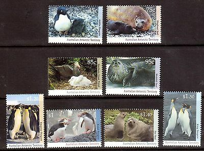 Australia Antarctic 1992 Wildlife set of 8  MNH