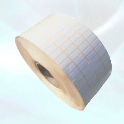Small Blank White Self Adhesive Sticky Printer Labels Rolls 10X25mm 1x0.4 inch