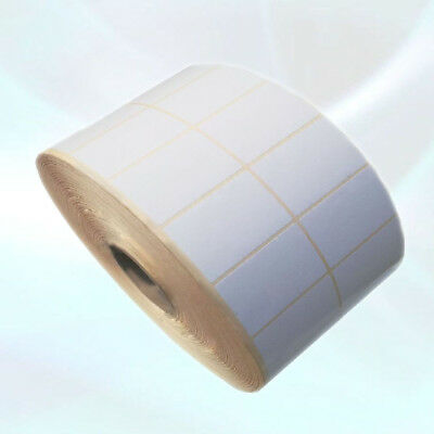 Blank White Self Adhesive Sticky Address Printer Labels Rolls 76X50mm 3x2inch
