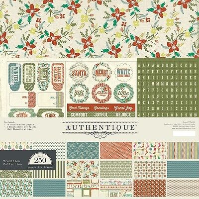 Authentique 12x12 Collection Kit - Tradition