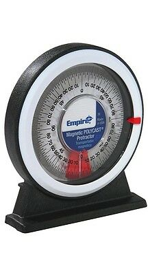 Empire Magnetic Protractor Emp-36 - Easy Read Dial Simple To Use