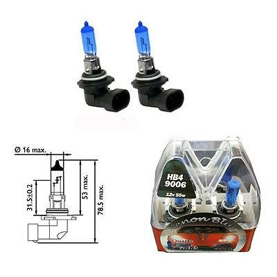 HB4 9006 7500K 55W Replacement Headlight Bulbs HID Look Xenon Blue - Mitsubishi