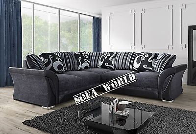 Brand New Shannon Corner Or 3+2 Sofa Suite