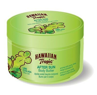 Hawaiian Tropic Body Butter Lime Coolada Luxury After Sun 200ml