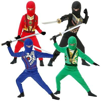 Ninja Avengers Series 4 Costume Halloween Fancy Dress