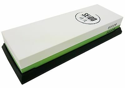 Seido 3000/8000 Grit Combination Corundum Whetstone Knife Sharpening Stone