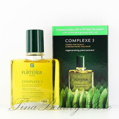 Rene Furterer Complexe 5 Regenerating Plant Extract 1.7oz/50ml New In Box