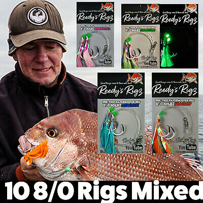 5  Whiting Fishing Rigs Bream Flathead Paternoster Lure Tackle Yabby Bait Lure