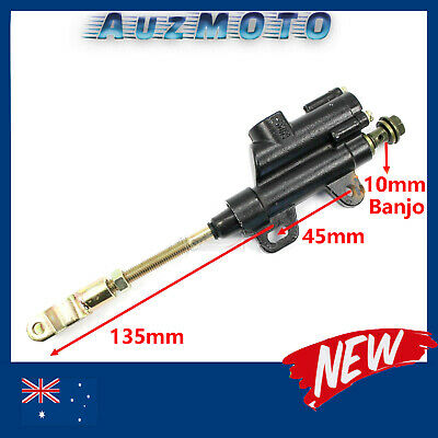10mm Rear Hydraulic Brake Master Cylinder 110/125/150cc atv quad dirt bike Buggy