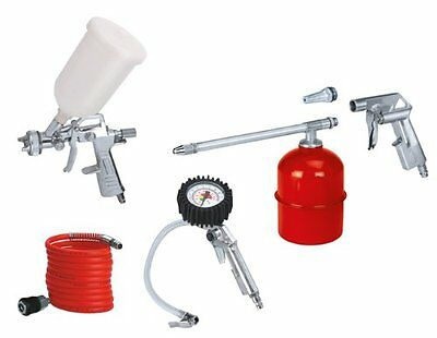 Kit Set Compressore 5 Accessori  Per Compressore Kit Ad Aria Compressa Einhell