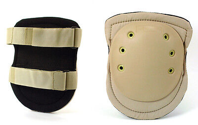 Galls Gear Military Tactical Combat Assault  Knee Pads  Desert Tan Paintball