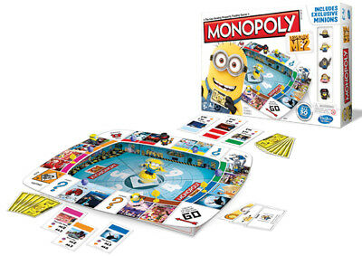Board Game - Hasbro - Despicable Me 2 Minions Monopoly