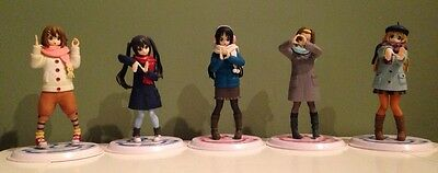 K-ON! Anime DXF HTT in London Figure Set of 5 Banpresto Japan
