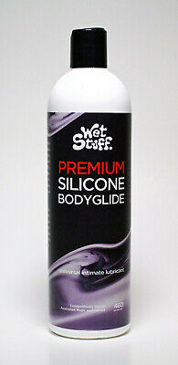 Wet Stuff Premium Silicone Bodyglide Personal Sex Lubricant 460g Bottle Lube