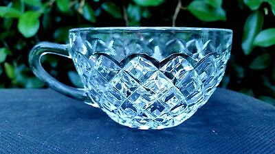 Crystal Waterford Waffle Cup Made In (USA)