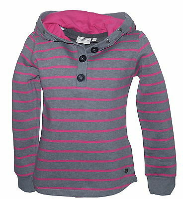 Tom Tailor Pink and Grey Hooded Top Sweatshirt Various Sizes NWOT