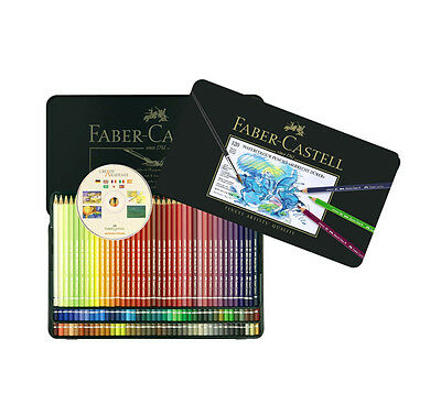 Faber Castell Albrecht Dürer Watercolor Color Colored Artists Pencils Tin 120
