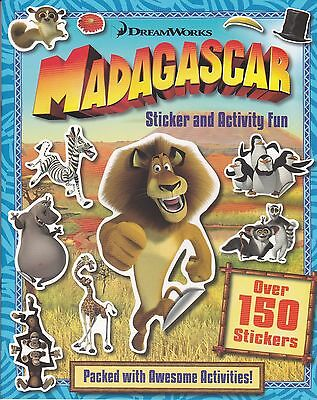 Madagascar Sticker And Activity Book - Over 150 Stickers