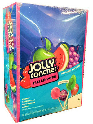Jolly Rancher Lollipops Variety Candy100 Ct Bag Fruit Filled
